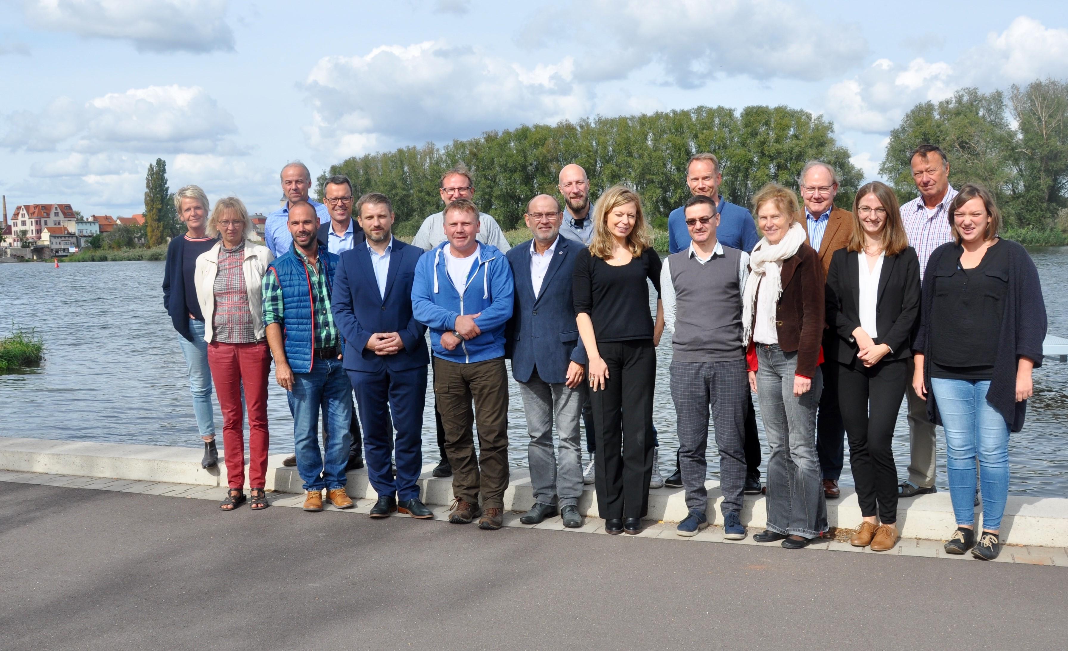 Teilnehmer am Workshop
