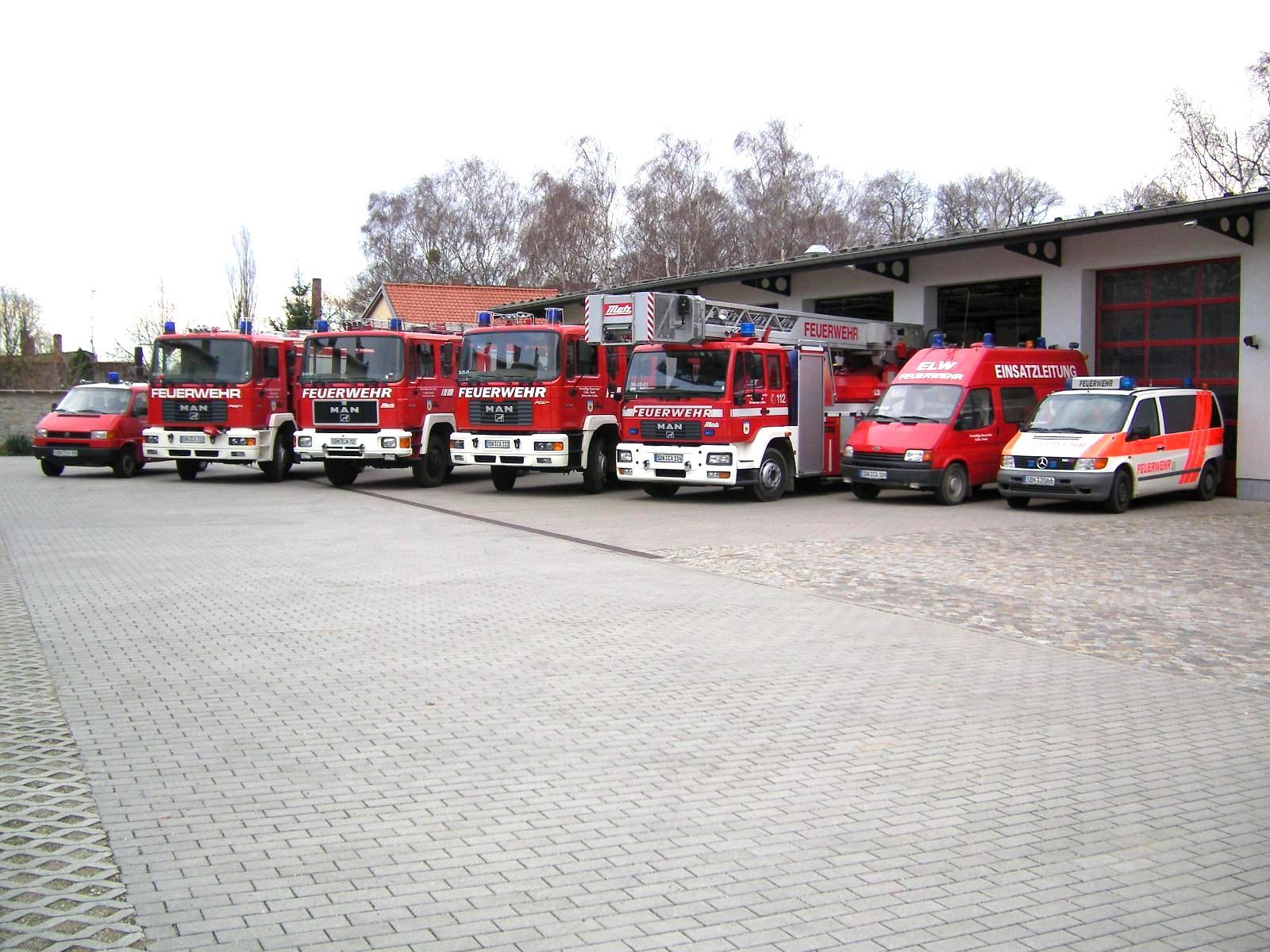 Fahrzeuge der Freiwilligen Feuerwehr Calbe (Saale)